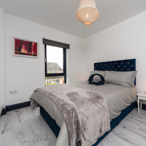 Featherbed House double bedroom